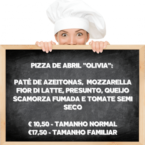 Pizza de abril